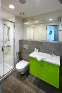 Ванная комната в Hotel Erwin Junker
