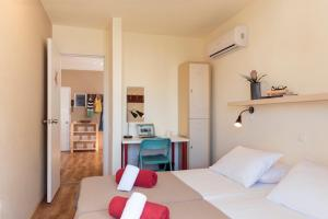 Un ou plusieurs lits dans un hébergement de l'établissement Stay Hostel Rhodes