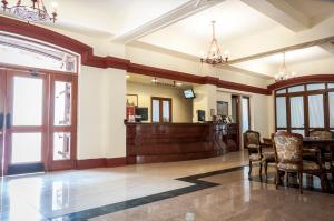El vestíbulo o zona de recepción de Hotel Francisco De Aguirre