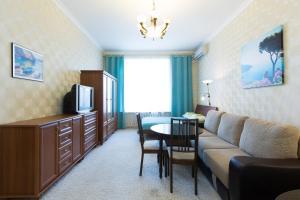 Гостиная зона в Мини-отель на 1-ом Басманном