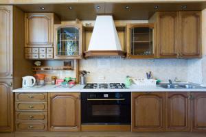 Кухня или мини-кухня в Мини-отель на 1-ом Басманном