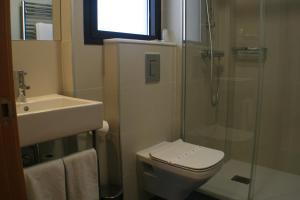 A bathroom at Hotel Picos De Europa