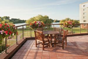 A balcony or terrace at Holiday Inn Basildon, an IHG Hotel