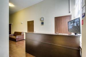 Лобби или стойка регистрации в Отель Островский
