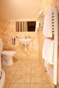 Ванная комната в Betlem Club Hotel