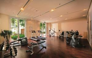 The fitness centre and/or fitness facilities at Lone Pine, The Boutique Hotel by The Beach