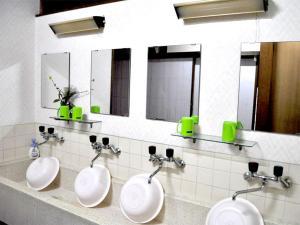A bathroom at Asahikan