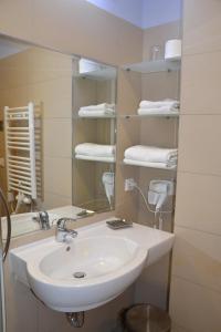 A bathroom at Hotel Kolna