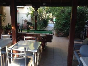Τραπέζι μπιλιάρδου στο Τουριστικά Διαμερίσματα Πάνκλιτος