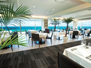 A restaurant or other place to eat at Hotel Hamahigashima Resort