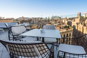 A balcony or terrace at Negresco Princess 4* Sup