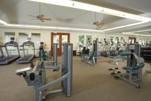 The fitness center and/or fitness facilities at Ho'olei at Grand Wailea, A Waldorf Astoria Resort