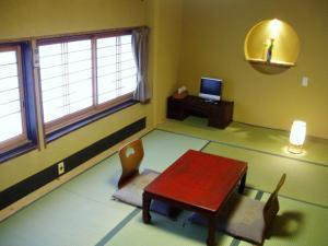 A television and/or entertainment center at Inn Kawashima