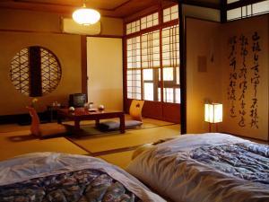A seating area at Inn Kawashima
