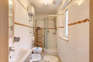 Ein Badezimmer in der Unterkunft Aurelia Vatican Apartments