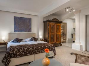 Ein Bett oder Betten in einem Zimmer der Unterkunft Remise Blumberg