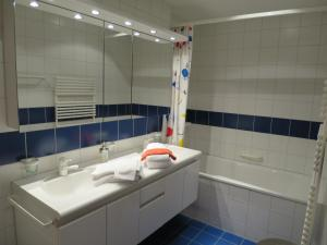 A bathroom at Chesigna 4