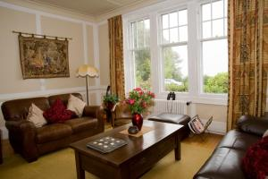 A seating area at Ards House