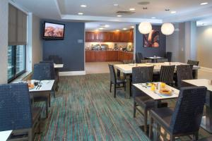 A restaurant or other place to eat at Residence Inn Dover