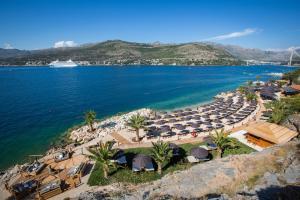 Vista aerea di Adriatic Resort Apartments