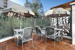 A restaurant or other place to eat at Odalys City Marseille Prado Castellane