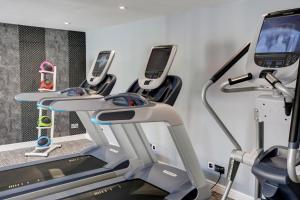 The fitness center and/or fitness facilities at Frensham Pond Country House Hotel & Spa