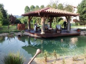 The swimming pool at or near Casa Rural Jesuskoa