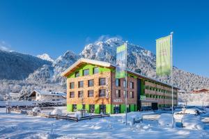 Explorer Hotel Berchtesgaden during the winter