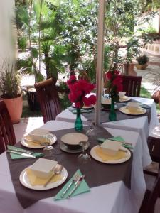A restaurant or other place to eat at Noble Crown Resort & Spa