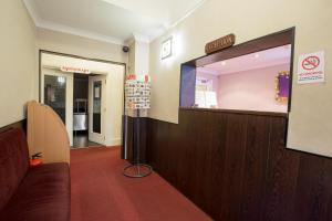 The lobby or reception area at Banks Hotel