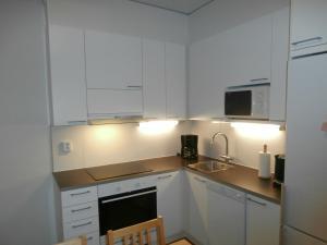 Majoituspaikan Apartment Nallisuites keittiö tai keittotila
