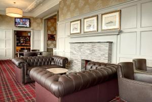A seating area at Argyll Hotel