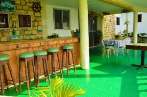 The lounge or bar area at Sahara dela Mer Inn