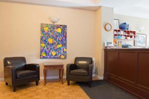 The lobby or reception area at ByWard Blue Inn