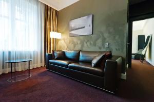 Гостиная зона в Шлосс Отель Янтарный