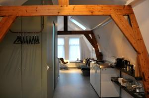Een keuken of kitchenette bij Betty Blue Bed & Breakfast