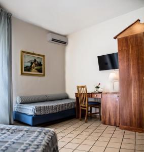 TV o dispositivi per l'intrattenimento presso Hotel Sirenetta