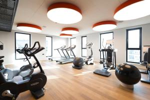 The fitness center and/or fitness facilities at Jaz in the City Amsterdam