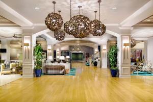 The lobby or reception area at Wyndham Lake Buena Vista Resort Disney Springs® Resort Area