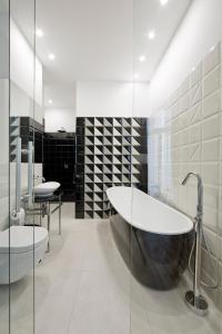 Łazienka w obiekcie Apartamenty Pod Orłem