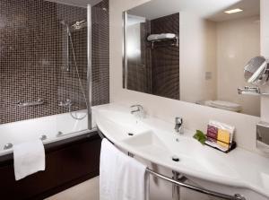 A bathroom at Clarion Congress Hotel Olomouc