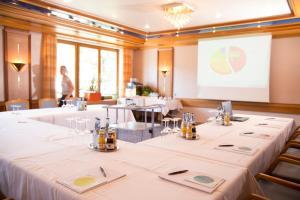 Der Geschäftsbereich oder Konferenzraum in der Unterkunft Hotel Restaurant Lamm