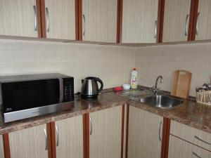 Кухня или мини-кухня в Borisovskie Prudy Apartment