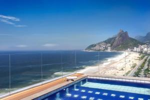 Výhled na bazén z ubytování Sol Ipanema Hotel nebo okolí