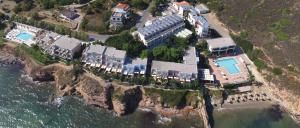 A bird's-eye view of Erytha Hotel & Resort Chios