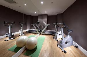 The fitness center and/or fitness facilities at Eurostars Thalia