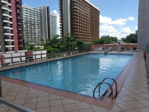 The swimming pool at or close to IKA Apart Hotel