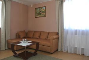 Гостиная зона в Inn Na Suzdalskoy