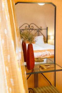 Ένα ή περισσότερα κρεβάτια σε δωμάτιο στο Lycasti Maisonettes