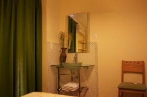 A bathroom at Pensión Matilde